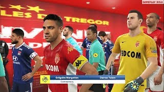 Monaco vs Lyon | PES 2019 Ligue 1 Conforama 2019/2020