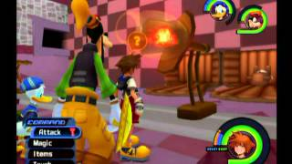 Kingdom Hearts Getting the Lady Luck Keyblade