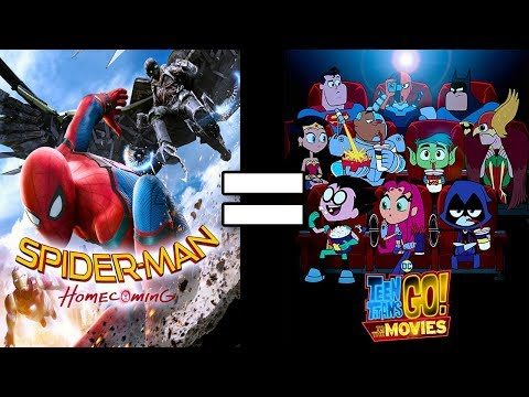 24 Reasons Spider-Man:Homecoming & Teen Titans Go! To The Movies Are The Same Mp3
