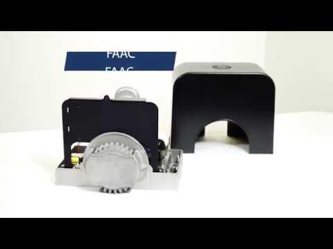 Kit Per Ante Scorrevoli.Cyclo C720 Kit 24v 400kg Faac Cod 1059995 Automazione Kit Per