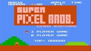 ROM hack — [NES] Super Pixel Bros. (Super Mario Bros)