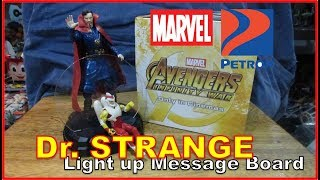 AVENGERS INFINITY WAR - DR. STRANGE Electronic Message Board | PETRON Gas Station Promo