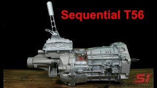 S1 T56 sequential shifter