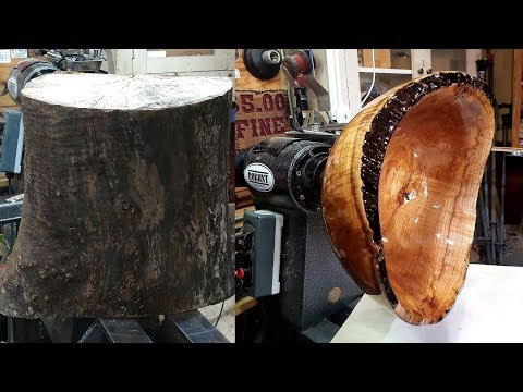 Woodturning Maple Sink | Carl Jacobson