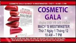 Macy's Cosmetic Gala on December 1st 2012 in Westminster Mall! Thumbnail