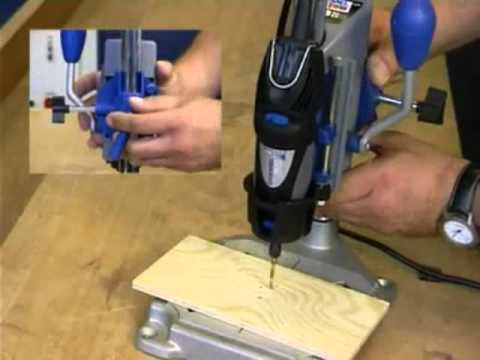 How to use micro mark 83453 dremel workstation youtube - Soporte para dremel ...