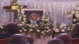 Marehemu Nicholas Biwott azikwa Elgeyo Marakwet