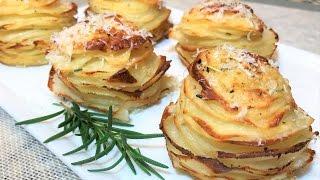 Картофель ПРАЗДНИЧНЫЙ ЛЮБИМЫЙ  запеченный в духовке. Baked potato.