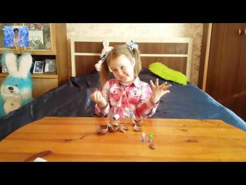 Шоколадные шары чупа-чупс с сюрпризам, собираем коллекцию фиксиков