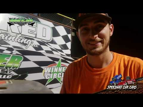 Winner - #50 Dylan McCrary - Street Stock - 9-2-18 Duck River Raceway Park - In Car Camera