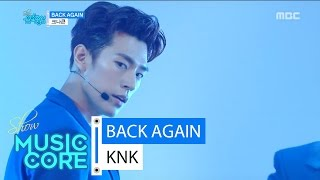 hot knk back again 크나큰 백어게인 show music core 20160618