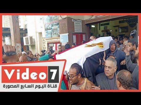 جنازة الفنانة ماجدة.. النعش بيجرى وسر فتاة انهارت غضبا  - 14:59-2020 / 1 / 17