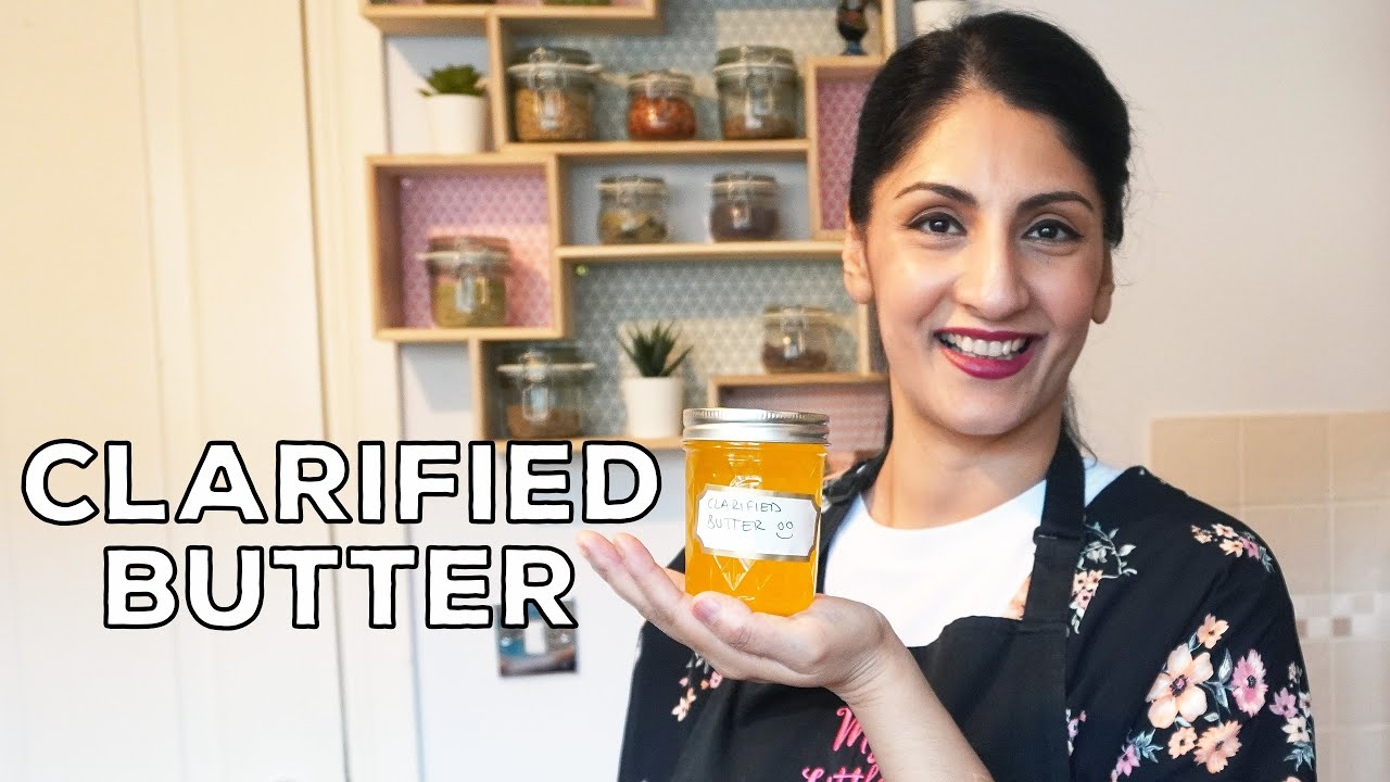 How To Clarify Butter | Homemade Desi Ghee | Easy & Simple Clarified Butter Recipe
