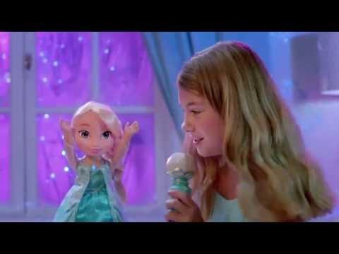 LA REINE DES NEIGES/FROZEN - Poupée chante avec Elsa - Spot publicitaire