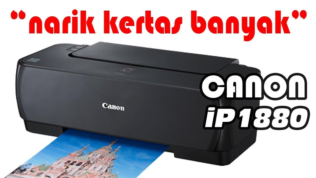Canon Ip1880 Ip1980 Blink 3 Kali Narik Kertas Banyak Youtube