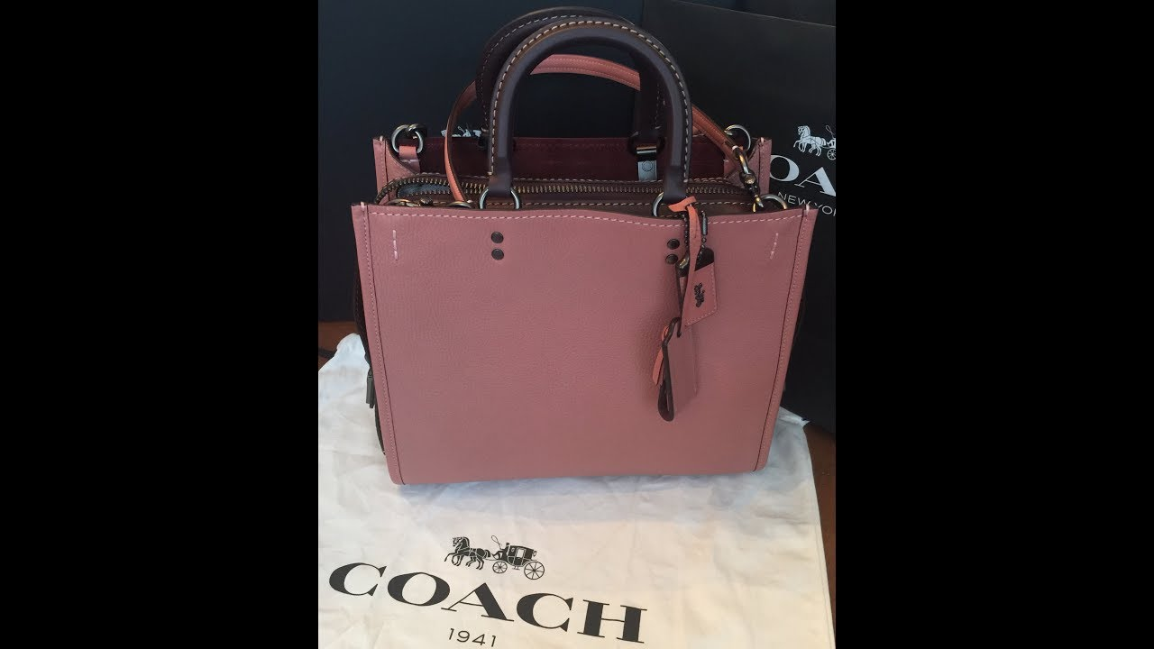 Coach Rogue Handbag Unboxing And Review