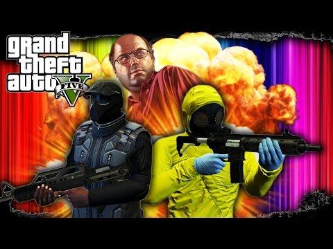 GTA 5: Heists #1 FLEECA Bank Robbery - Full Heists Mission #1 (GTA V Online)