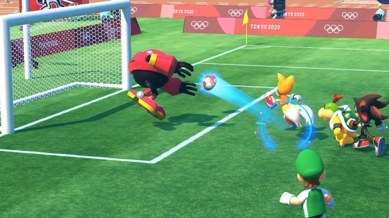 Mario and Sonic at the Tokyo 2020 Olympic Games Football ...
