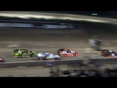 9. I.M.C.A. Heat Race #2 at Crystal Motor Speedway, 04-15-17