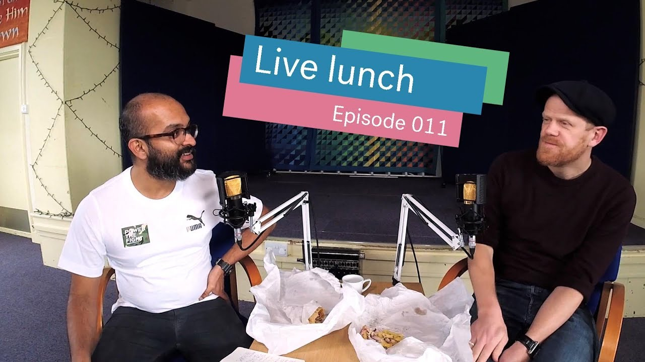 Jesus' Baptism | #LiveLunch Episode 11 Cover Image