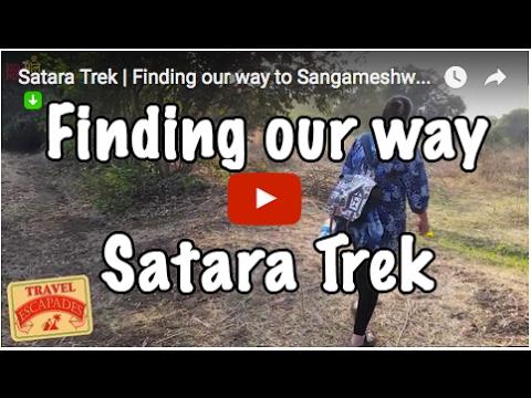 Satara Trek   Finding our way to Sangameshwar Temple   Maharashtra   Travel Escapades  