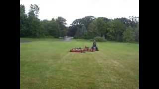 Repeat youtube video 14 foot wide lawn mower cut
