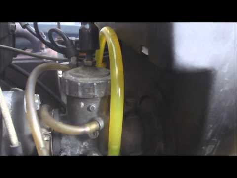 Snowmobile Problem Air Comes Out Of Carb