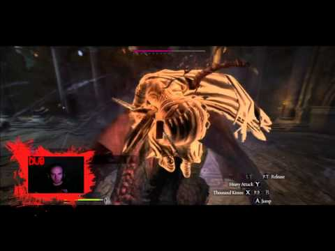 Killing Daimon's 2nd Form Fast With A Magic Archer - Dragon's Dogma: Dark Arisen