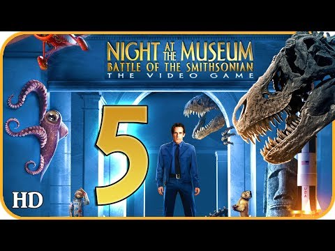 Night At The Museum: Battle Of The Smithsonian Walkthrough Part 5 (X360, Wii) Washington Art Museum