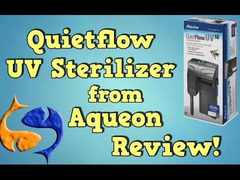 Aqueon Quietflow 18W HOB UV Sterilizer Review!
