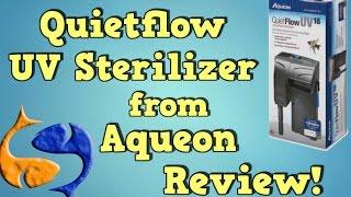 aqueon quietflow 18w hob uv sterilizer review