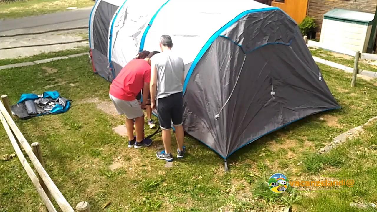 3ebc2ade742dcd Montaggio tenda pneumatica QUECHUA AIR SECONDS FAMILY 6.3 XL di Decathlon