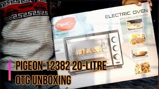 Pigeon 12382 20-Litre OTG unboxing in hindi हिंदी में unboxing video