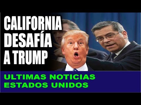 Ultimas noticias de EEUU, CALIFORNIA CONTRA TRUMP 17/08/2019