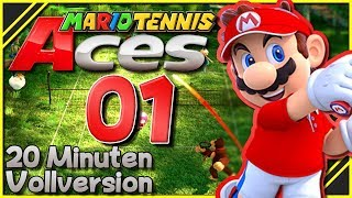 20 Minuten aus der VOLLVERSION! 🔮 Mario Tennis Aces #001