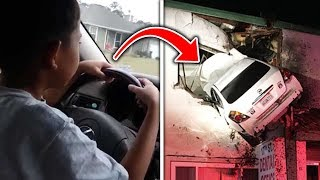 Top 5 Worst Student Drivers CAUGHT ON CAMERA!