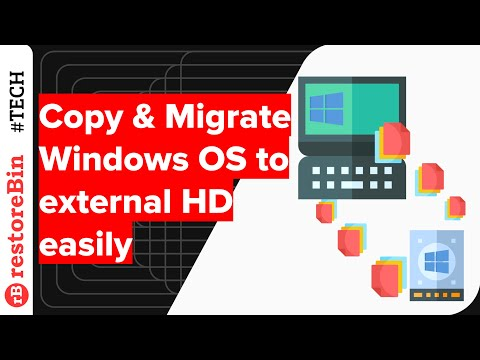 Migrating Windows OS to External HD 💽 for Backup & Booting Independently