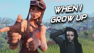 "Fortnite Montage - 'WHEN I GROW UP"" (NF)"