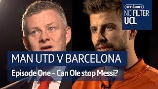 Manchester United vs Barcelona | Solskjaer, Pique, Ferdinand | No Filter UCL