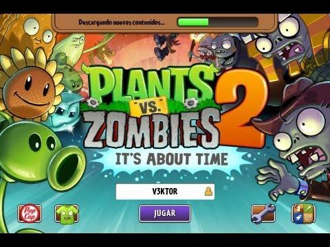 Como descargar Plantas Vs Zombies 2 Its About Time ...