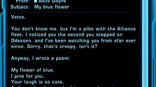 "♥ Love Poem for Vette ♥ by Avus Dayne ""My Blue Flower"""