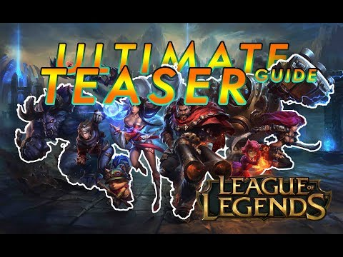 ALL CHAMPION TEASER TRAILERS (NEW 2018)   League of Legends