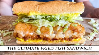 The ULTIMATE Fried Fish Sandwich | Simple & Delicious Recipe