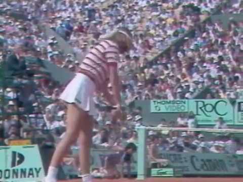 Chris Evert vs Hana Mandlikova - 1983 French Open QF