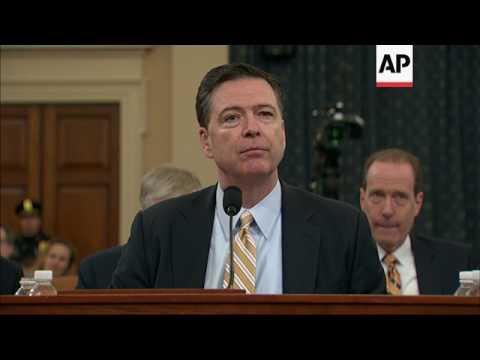 FBI, NSA Bosses Face Trump Tweets During Hearing