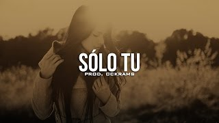 Solo tu - Instrumental Rap Beat | Emotional Love