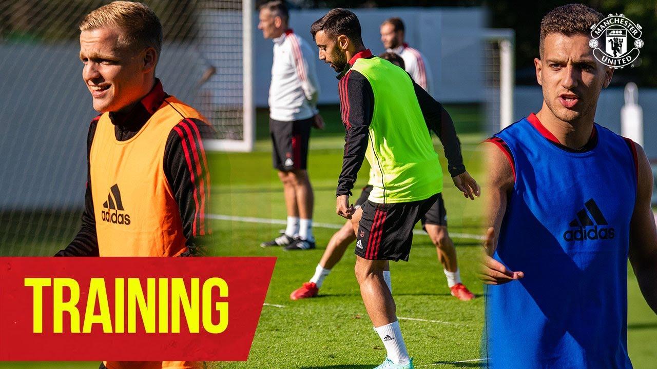 Manchester United | Pre-Season Training | Greenwood, Fernandes, van de Beek, Dalot, Maguire & James