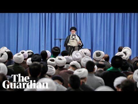 Iran will not hold talks with the US 'at any level', says Ayatollah Ali Khamenei