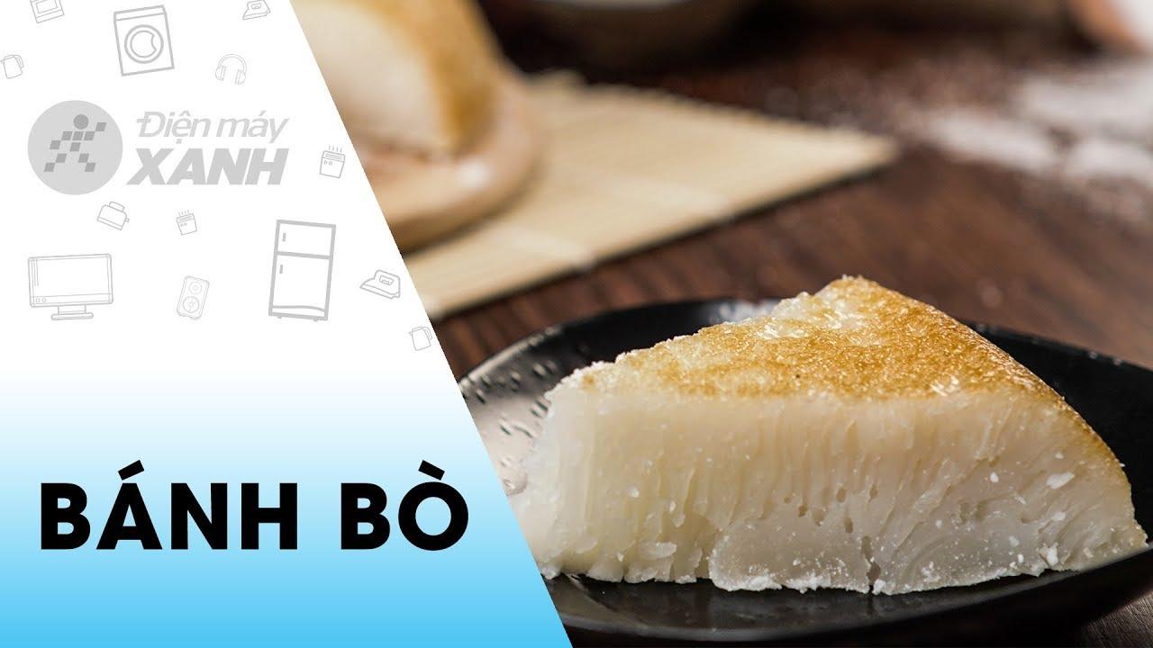 Cách làm Bánh bò rễ tre bằng nồi cơm điện | Vào bếp cùng Điện máy XANH