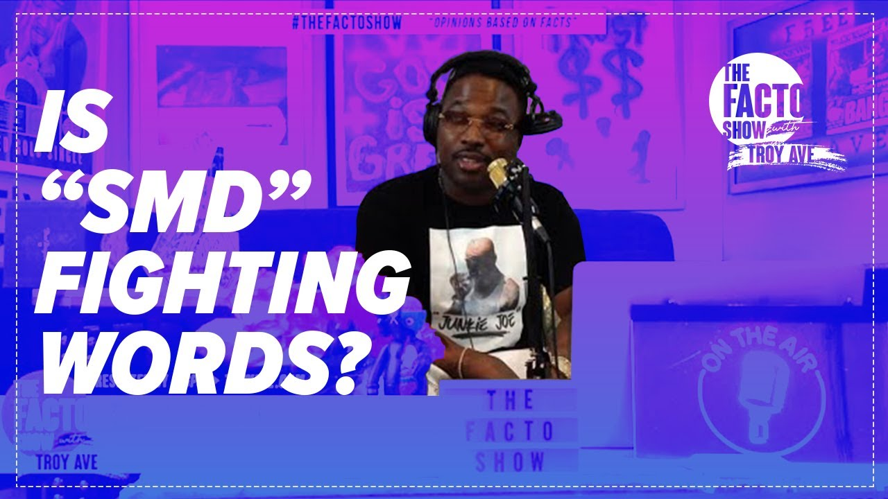 "THE FACTO SHOW (CLIPS) ""Is SMD Fighting Words?"" Episode 8"
